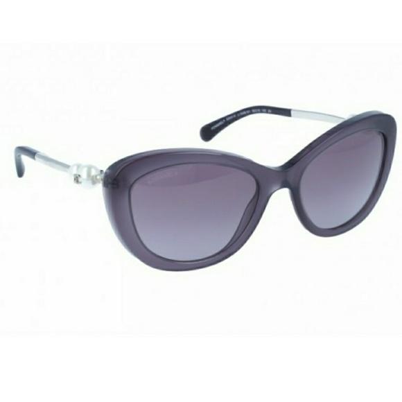 20fdddfab4 CHANEL Accessories - Chanel 5340-H Cat Eye Pearl Purple Sunglasses